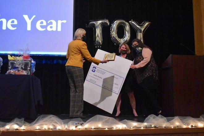 Horace Mann Elementary School teacher Sandra Bradley was named the 2021 Shawnee Public School Teacher of the Year.