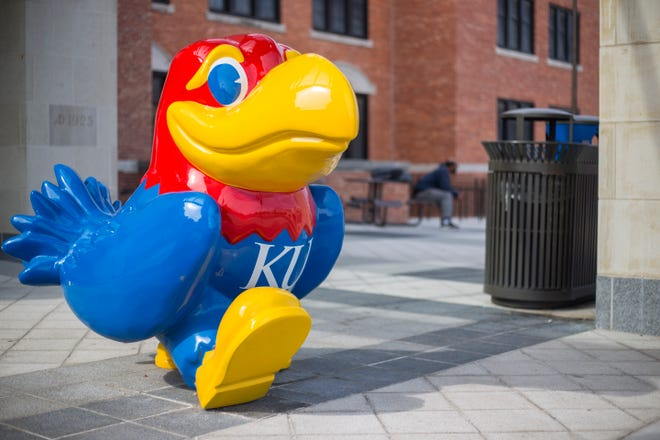 """A proposal to require that public universities, such as the University of Kansas, refund student tuition for remote and hybrid classes would be """"devastating,"""" the president of the Kansas Board of Regents said Thursday."""