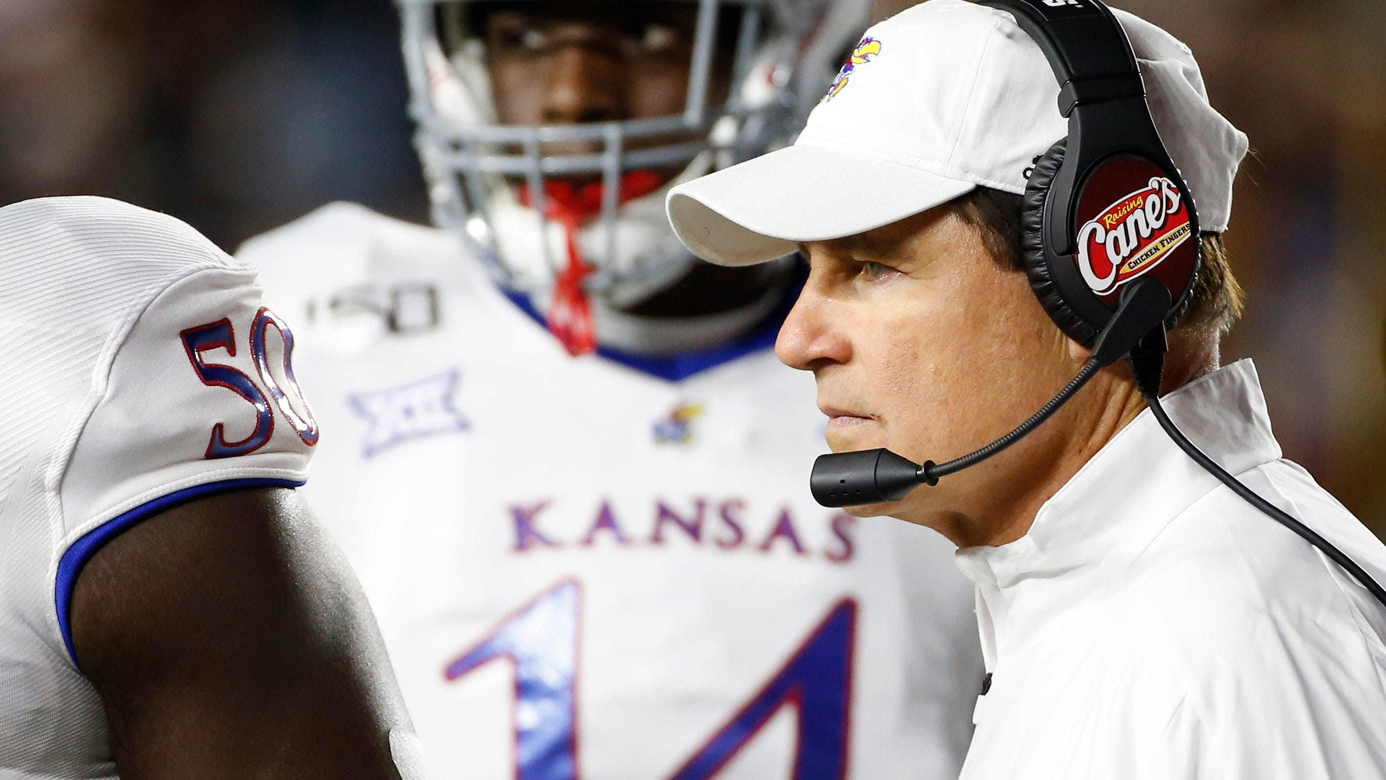 Embattled Les Miles out as KU football  coach