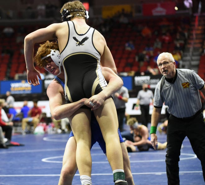 Freshman Brody Sampson became Collins-Maxwell's first-ever state wrestling qualifier in 2020-2021. Sampson placed eighth at 182 pounds in Class 1A to highlight positive growth by the Spartan program this season.