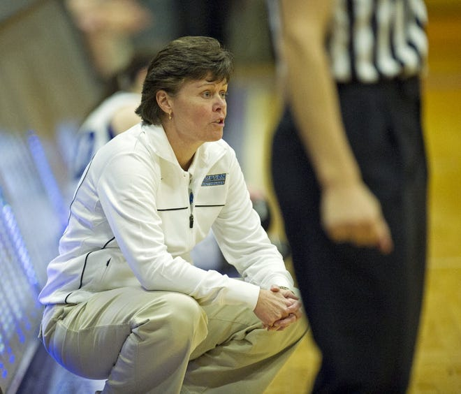 Assumption women's basketball coach Kerry Phayre has been nominated as a candidate for the Leukemia & Lymphoma Society's Man & Woman of the Year campaign.