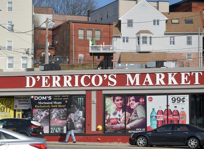 D'Errico's Market on 141 E Central St. in Worcester.