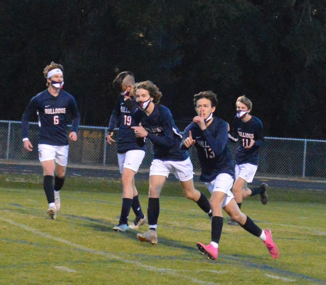 The Terry Sanford boys' soccer team is one of three soccer teams in Cumberland County to make the NCHSAA playoffs.