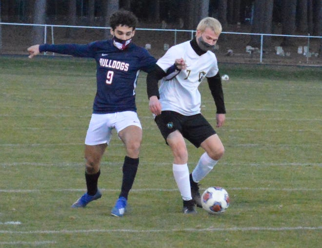Blake Barbour is one of six seniors on the Terry Sanford boys' soccer team. The Bulldogs are one win away from a perfect regular season and a Patriot 4-A/3-A Conference championship.
