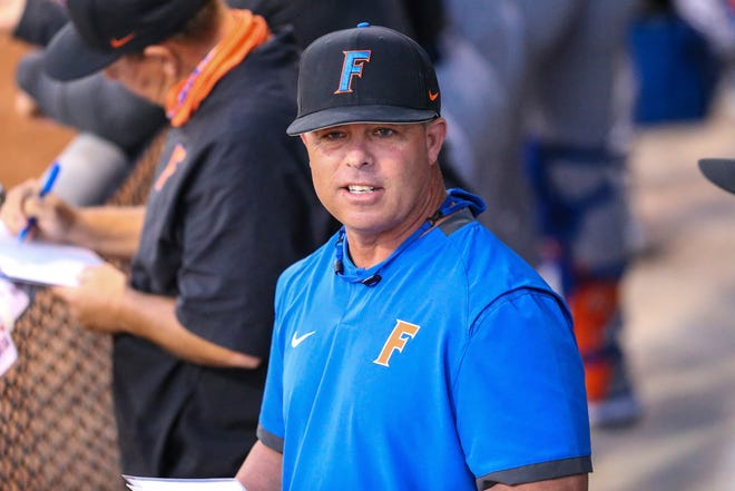 Florida baseball coach Kevin O'Sullivan now owns the most wins in Gators' program history.