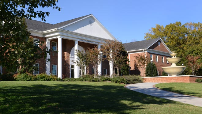 The Gerald L. Francis Center at Elon University is home to the School of Health Sciences and the Department of Nursing.