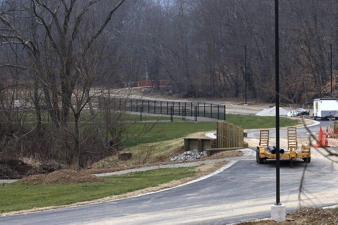 The grand opening for New Philadelphia's Southside Community Park will be June 19. TIMES-REPORTER/JIM CUMMINGS