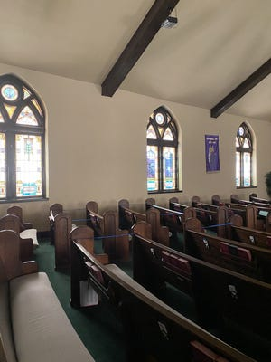 The Paris First United Methodist Church building turns 100 this year.