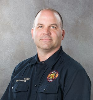 Mike Little, fire chief