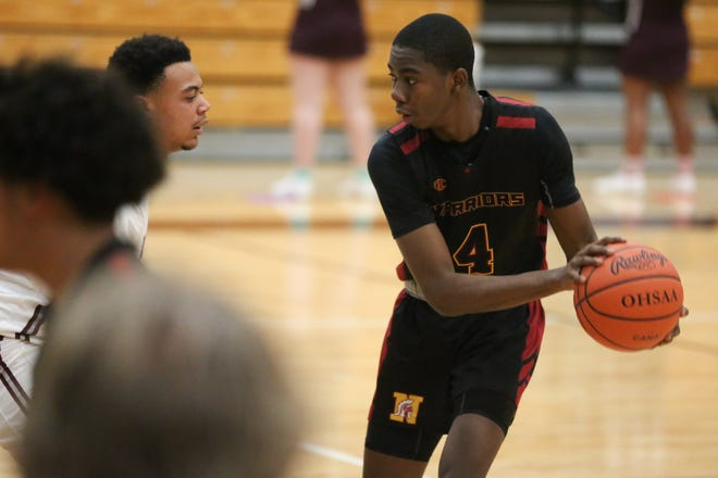 Caleb Iheukwu, a 6-foot-5 junior guard/forward, was honorable mention all-league for North after averaging 10.5 points and a team-leading 5.0 rebounds.