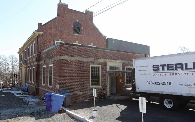 The Belmont Police Department moved back to its renovated headquarters in Belmont Center from their temporary facility on Woodland St., March 9, 2021.
