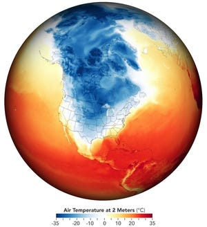 Our changing climate can loosen a piece of extreme cold in the Arctic toward Texas, resulting in disaster and death.