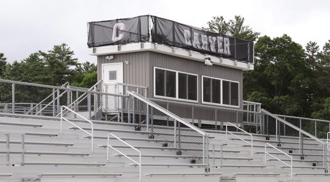 With a few weeks of practice under its belt and the season-opener in sight, Carver football has been selling popcorn to help fund the program for future gear and equipment.