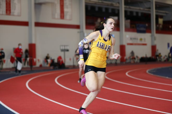 Ashland University sprinter and Ontario High School graduate Rachel Miller will make her first appearance at the NCAA Division II Indoor Track and Field Championships this week.