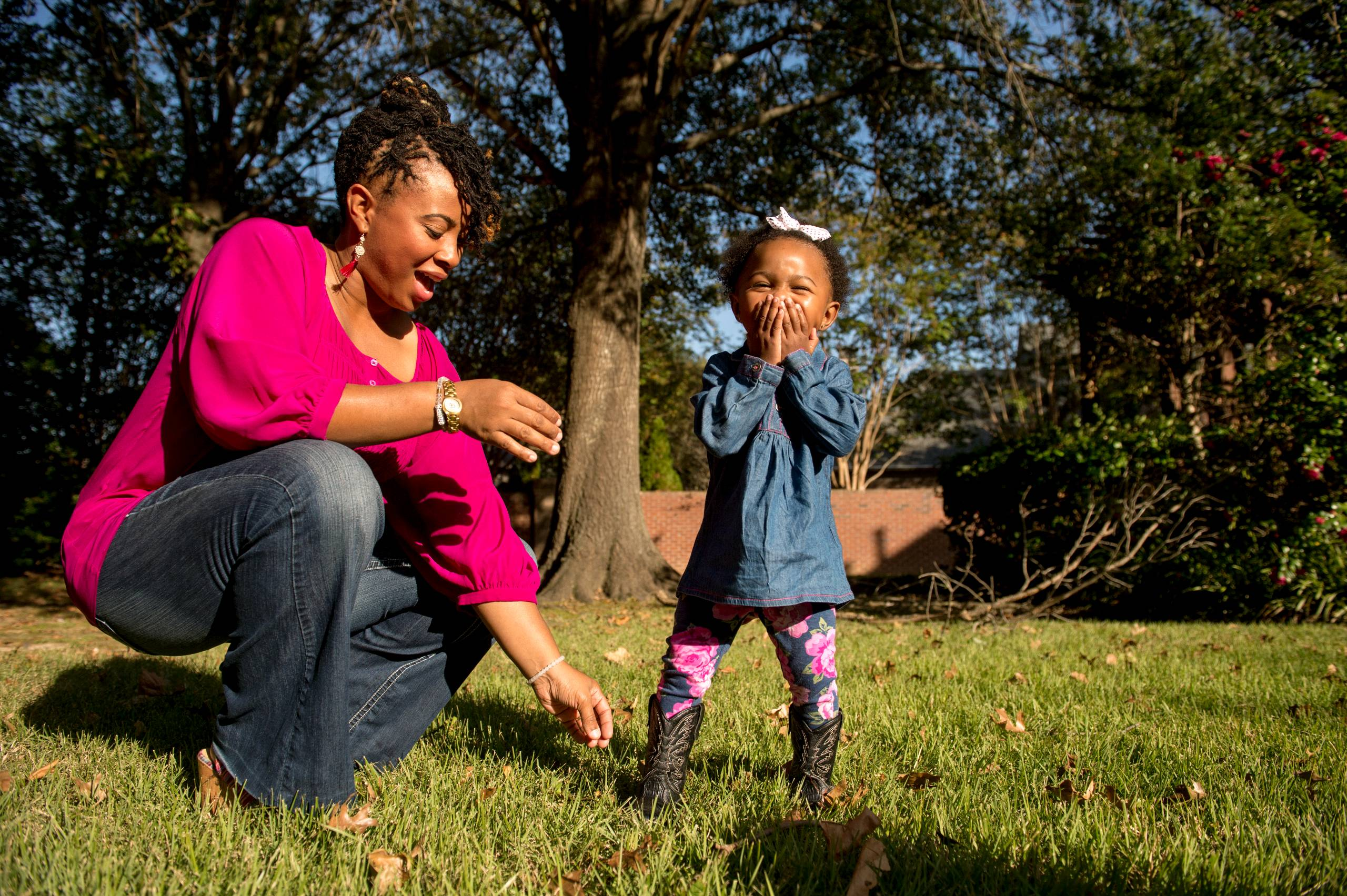 Whitehaven resident Kimberly Dobbins with her daughter Zaiyah Veasley