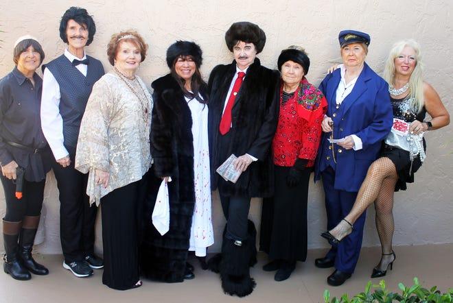 Cast members are Bonnie Bozzo, Susie Walsh, Trisha Pease, Annette Mennella, Cindy Crane, Linda Sobolewski, Rachel DeHanas and Rose Kraemer.