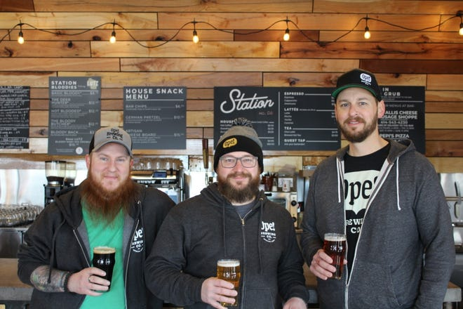 Adam Anders, Kyle Ciske and John Onopa are planning to open Ope! Brewing Co. in West Allis in 2021.