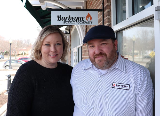 Erica and Mike Luce are opening a new barbecue supply store in Greendale. Barbeque Supply Company will open April 9 at 5668 Broad St.
