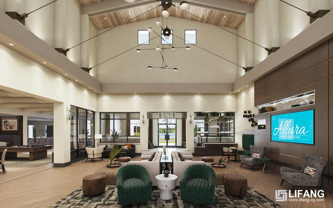Stock's luxury apartment community of Allura is highly amenitized and includes a 15,000-square-foot clubhouse.