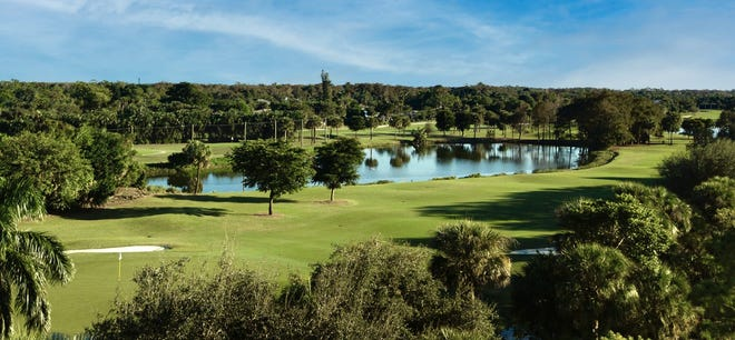 Moorings Park residences offer stunning lake, golf course and garden views.