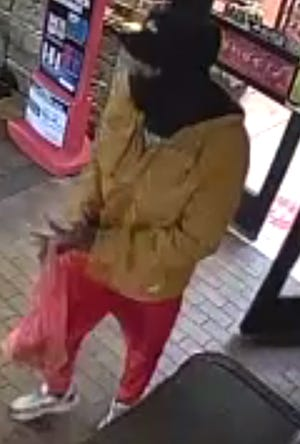 This man is accused of using counterfeit bills.