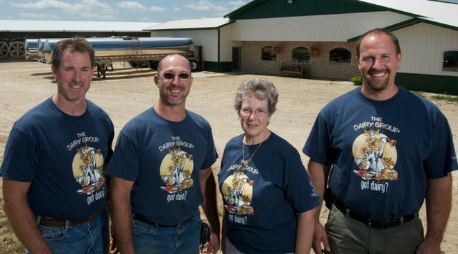 Fetzer Farms in Elmwood, Wis., is a fifth generation dairy farm owned by Joe Fetzer and his mom, two brothers, son and niece. They family milks 1,400 cows, raise heifers, and operate cropping and nutrient-application enterprises.