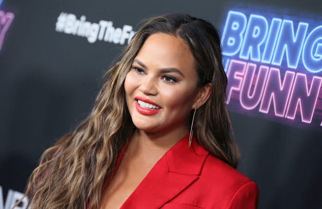 """Cookbook author Chrissy Teigen tweeted in January that sobriety has opened up """"a different world for me. everything is new and better. very happy."""""""