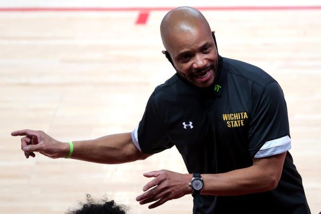 Isaac Brown took over the Wichita State program just two weeks before the season began and led the Shockers to the American Athletic Conference regular-season title.