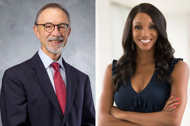 Spring 2021 commencement speakers are ESPN reporter Maria Taylor for the undergraduate ceremony and David Lee, vice president of research at the University of Georgia, for the graduate ceremony.