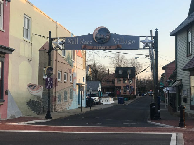 Downtown Mount Holly.