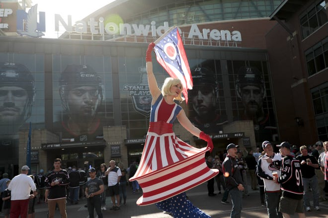 On some not-too-distant spring day, the Arena District may be jammed with Blue Jackets fans preparing for a hockey game, Clippers fans filing into a baseball game and Crew fans lining up for a soccer game.