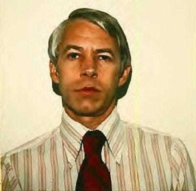 Dr. Richard Strauss has been accused of sexually abusing hundreds of former students while he worked for Ohio State University from 1978 to 1998. This photo was included with his 1978 application to Ohio State's medical staff.