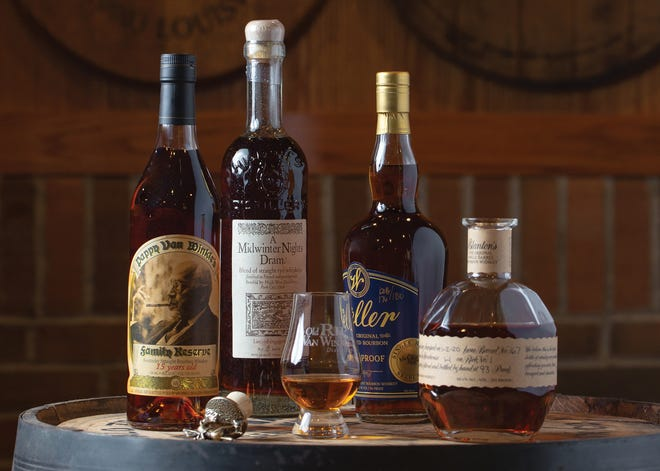 McClellan's Pub (6694 Sawmill Road) offers more than 500 whiskeys, including bottles from Old Rip Van Winkle, High West Distillery, W. L. Weller and Blanton's.
