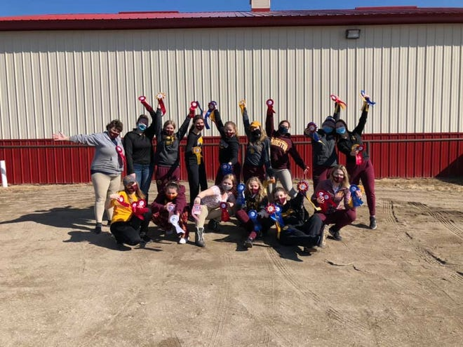 The Minnesota Crookston hunt seat equestrian team earned High Point Team honors in both shows this weekend.