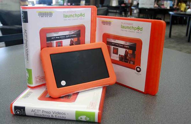 DCCC Library is now offering ACT preparation courses on Launchpad tablet devices to anyone in the Dodge City area.