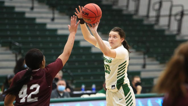 Megan Vincent and the Hatters are looking to make some noise in this week's ASUN Tournament.