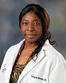 Board-certified Family Medicine Physician, Traceyan Mendez, MD