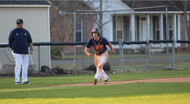 In Ascension Christian's 12-8 loss to Plaquemine, Brady Gueho went 3-4.