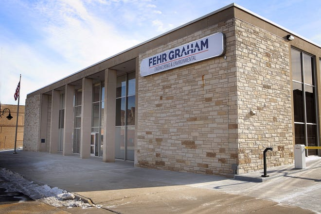 Fehr Graham has moved to its new location in downtown Freeport.