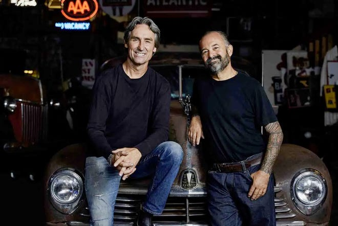Mike Wolfe (left) and Frank Fritz (right) are coming to Missouri to film the History Channel show, American Pickers during the month of May. Show producers are looking for locations in the Randolph County area to consider visiting.