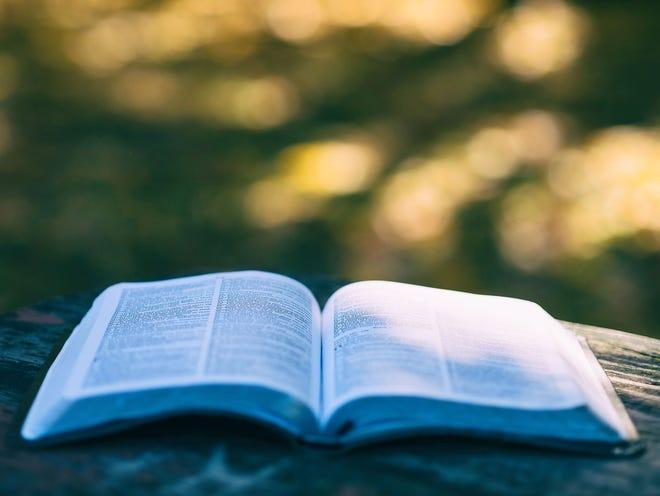 stock image of Bible