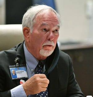 Tramm Hudson, Sarasota Memorial Hospital board member, blew the whistle on an effort by hospital leaders to donate money from a condo association to a PAC.