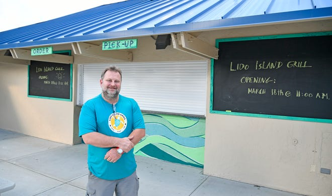 Lido Island Grill at the Lido Beach Pavilion is set to officially open on March 18. Laszlo Bevardi, owner of downtown Sarasota Italian restaurant Bevardi's Salute!, will head the business.