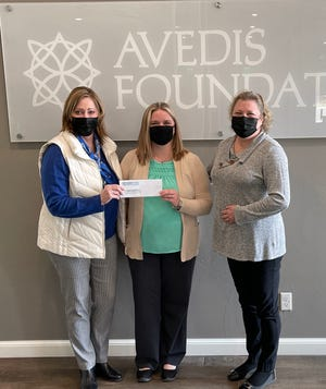 Pictured, from left, are Avedis Foundation President and CEO Dr. Kathy Laster; Sara Dame, Community Grant Writer, Central Oklahoma Community Action Agency; and Tracy Meeuwsen, Avedis program director.