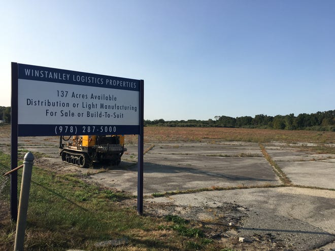 Amazon plans to construct a distribution facility at 137 Lathrop Road in Plainfield at the site of the former dog-racing track