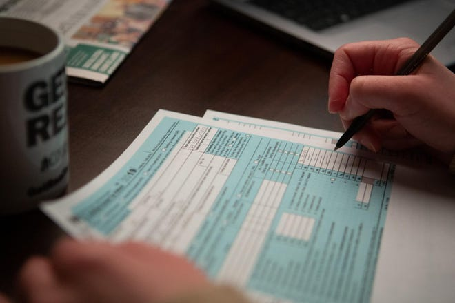 Shawnee County's VITA program, which offers free help filing tax returns, is being conducted by mail this year due to the COVID-19 pandemic. (Photo illustration)