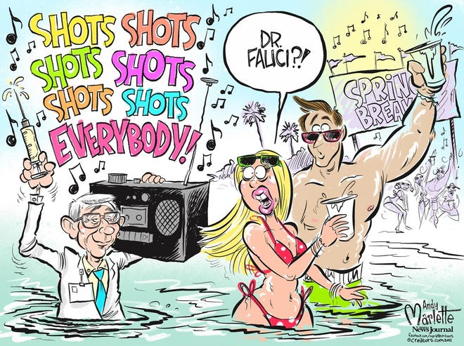 COVID-19 does not take a spring break, neither should vaccinations