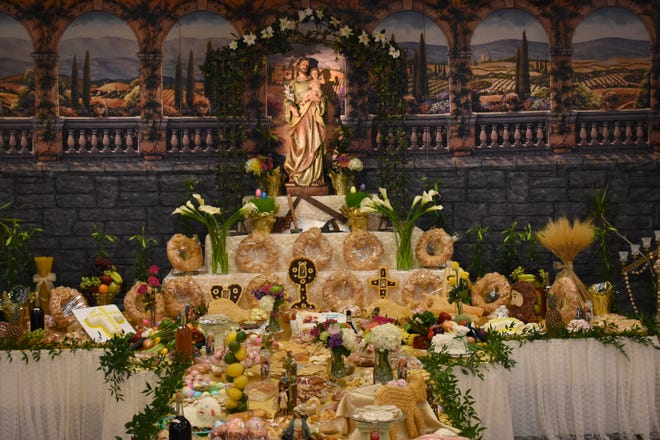 The St. Joseph Table at St. Joseph's Catholic Church in Blende