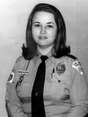 Fort Smith's first policewoman, Carol Hodges, was laid to rest Wednesday.
