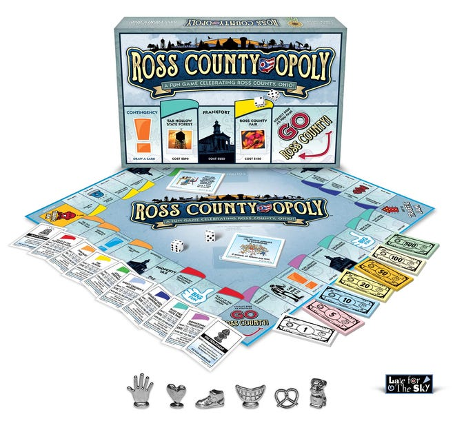 Cincinnati-based custom board game company Late for the Sky's newest creation celebrates Ross County. The news comes one year after the launch of their Chillicothe-centric game.